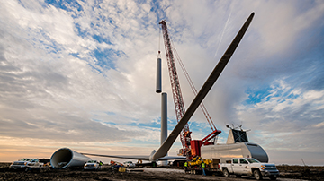 Mortenson at the forefront of wind energy